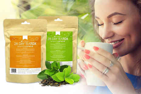 Slimming Solutions - 14 or 28 day supply of Teatox teabags - Save 0%