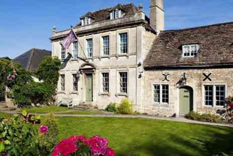 The Moonraker Hotel - Wiltshire manor stay with dinner - Save 55%