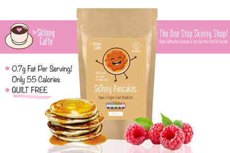 The Skinny Caffe - Pack of skinny pancake mix - Save 70%