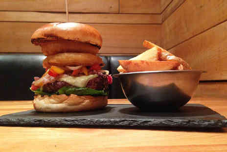 Bath Street Palomino - 8oz burger and fries each for two or four - Save 54%