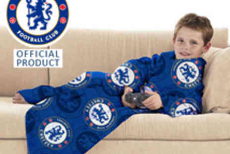 Chelsea FC - Snuggle Blanket - Save 61%