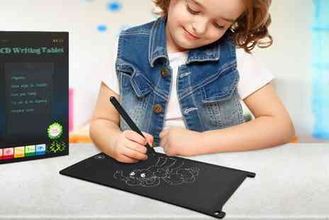 Groupon Goods Global GmbH - One or Two Lcd Digital Writing And Drawing Tablets and E Writers in Choice of Colour - Save 67%