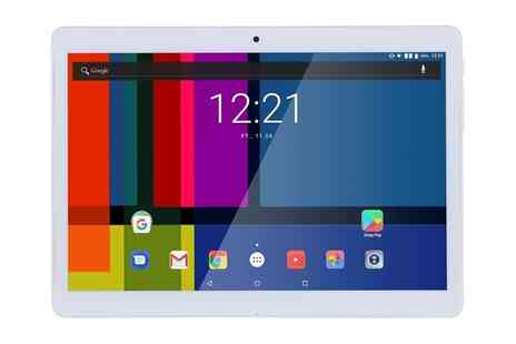 Groupon Goods Global GmbH - GoClever 9.6 Inch Ips Screen Android 6.0 Dual Sim Wi-Fi 3G Quad Core Processor Tablet with Free Delivery - Save 64%