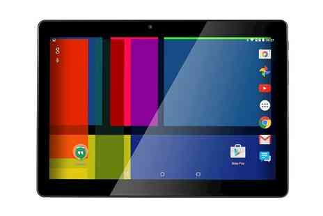 Groupon Goods Global GmbH - GoClever Quantum 2 1010 3G Dual Sim 10.1 Inch Tablet With Free Delivery - Save 52%