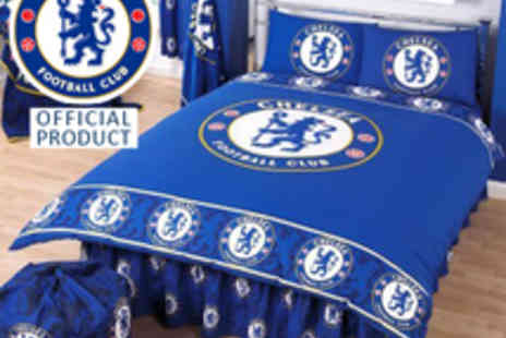 Chelsea FC - Double Duvet Set - Save 52%