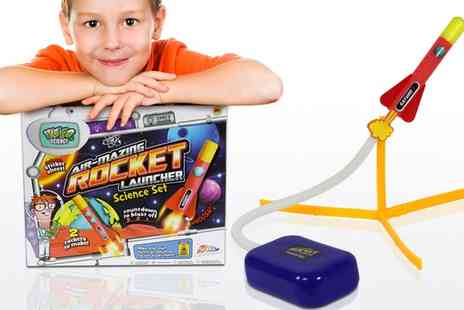 Groupon Goods Global GmbH - One or Two Weird Science Rocket Launcher Science Sets - Save 75%
