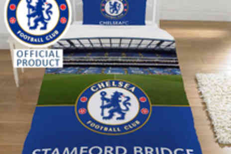 Chelsea FC - Single Stadium Duvet Set - Save 55%