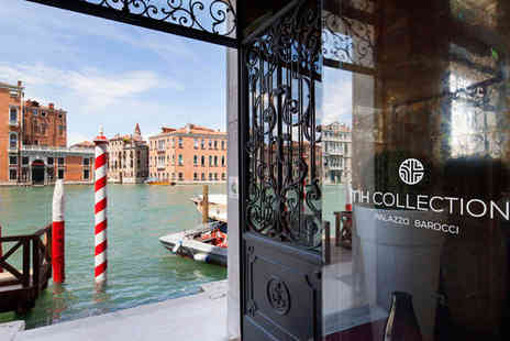 NH Collection Palazzo Barocci - Four Star Palatial Property overlooking the Grand Canal For Two - Save 72%