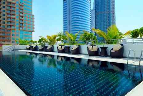 Movenpick Jumeirah Lakes Towers - Five Star Stylish Escape in Jumeirah Lakes Towers For Two - Save 96%