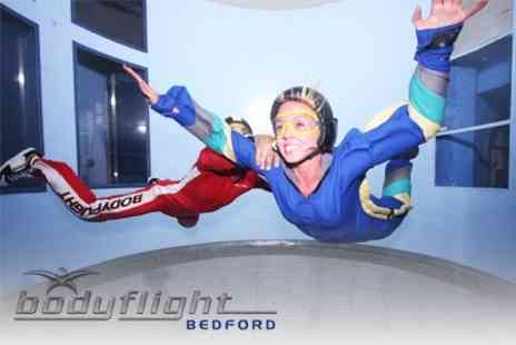 Bodyflight - Two Indoor Skydiving Flights and Take Home DVD - Save 64%