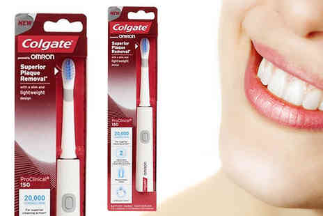 AMS Global - Colgate 150 Pro Clinical Sonic Electric Toothbrush - Save 48%