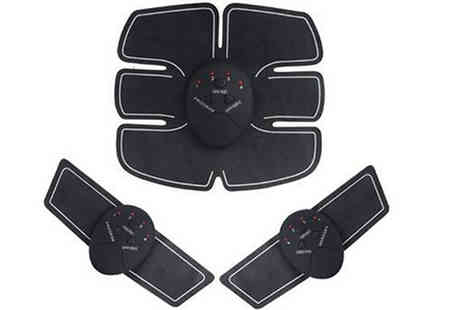 Morag online - Electric Muscle Stimulator Abs and Arm Pads - Save 58%