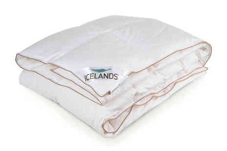 Karpe Deal SL - Icelands Feather Duvet Available in 3 Sizes - Save 77%
