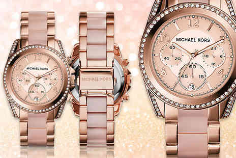 Gray Kingdom - Ladies Michael Kors MK5943 rose gold plated watch - Save 54%