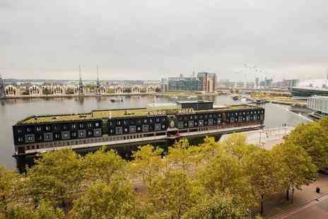 The Good Hotel - Four Star overnight London stay on a floating platform hotel - Save 0%