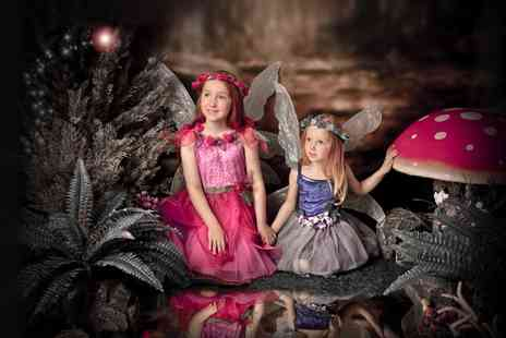 "Caroline Anne Photography - 60 minute enchanted fairies and elves photoshoot including a 10"" x 8"" print - Save 93%"