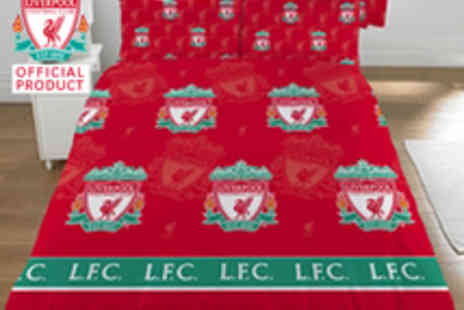 Liverpool FC - Double Duvet Set - Save 45%