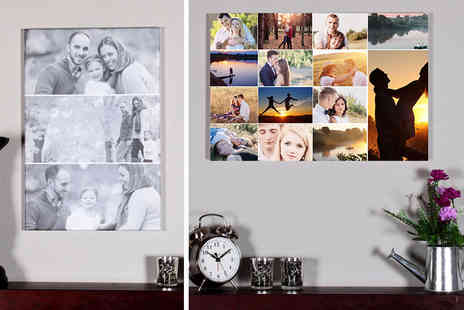 Your Perfect Canvas - A2 or A1 canvas collage - Save 82%