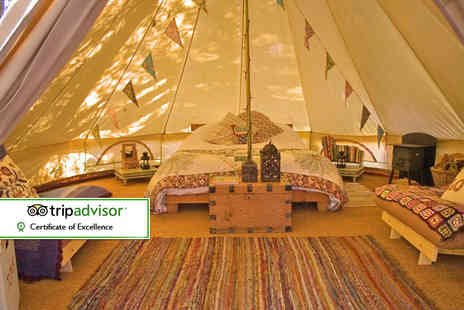 Wye Glamping - Two night mid week glamping break for up to four or four night mid week stay or three night weekend stay - Save 41%