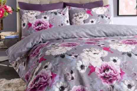 Groupon Goods Global GmbH - Floral Duvet Sets in Choice of Size - Save 71%