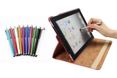 Groupon Goods Global GmbH - Gpct 10 Pack or 20 Pack of Stylus Pens for Tablets and Smartphones - Save 69%