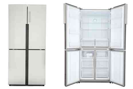 Groupon Goods Global GmbH - Haier Fridgen Freezer HTF-456DM6 With Free Delivery - Save 0%