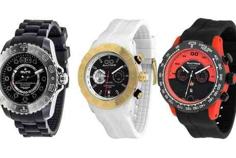 Groupon Goods Global GmbH - Bultaco Wrist Watch in Choice of Style With Free Delivery - Save 0%