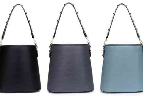 Groupon Goods Global GmbH - Studded Shoulder Strap Bag in Choice of Colour - Save 62%