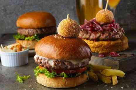 Brook & Barter - Choice of Burger and Drink for Two or Four - Save 47%
