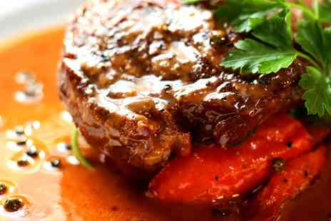 Stag and Hounds - Two Course Meal for Two or Four - Save 44%