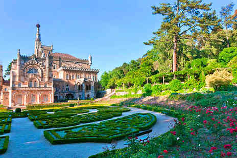 Bussaco Palace Hotel - Five Star Unique Luxury Boutique in Bussaco National Park For Two - Save 56%