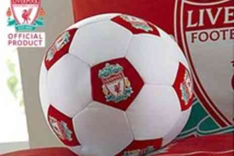 Liverpool FC - Football Cushion - Save 50%