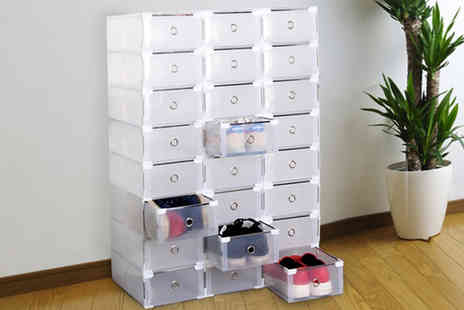 Chimp Online - Transparent shoe storage box - Save 75%