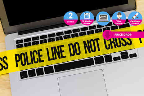 Oplex Careers - Online criminology course bundle - Save 96%