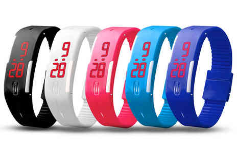 Ckent - Kids LED digital activity watch available in five colours - Save 33%