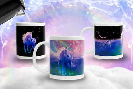 Direct 2 public - Colour changing unicorn mug - Save 65%