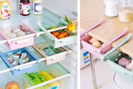 Charles Oscar - Space saving fridge storage rack - Save 71%