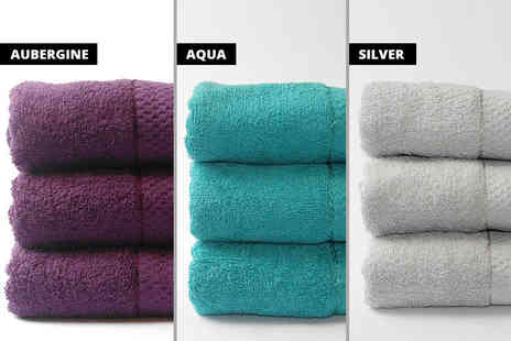 U Are Home - Set of three Egyptian cotton bath sheets - Save 79%