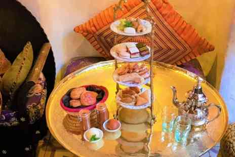 Momo - Moroccan Afternoon Tea with Optional Cocktail for Up to Four - Save 40%