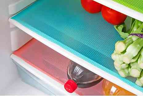 Groupon Goods Global GmbH - Three, Six or Nine Anti Bacterial Refrigerator Mats - Save 55%