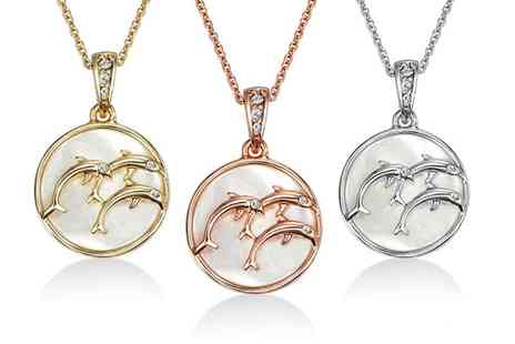 Neverland Sales - One or Two Neverland Sales Maui Necklaces with Crystals from Swarovski With Free Delivery - Save 77%