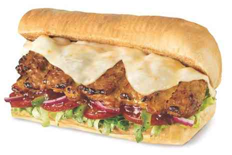 Subway Urmston - Footlong Sub with Drink for One or Sub with Drink and Cookie or Crisps for Two - Save 46%