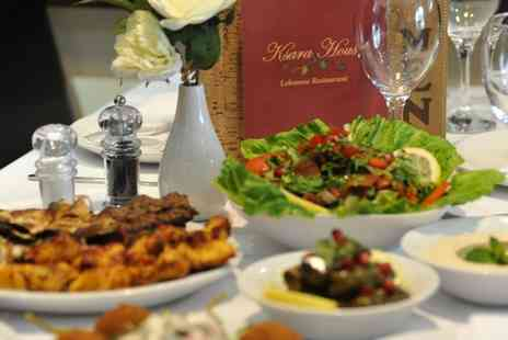 Ksara House - Ten Meze with Glass of Wine Each for Two or 20 Meze with Glass of Wine Each for Four - Save 72%