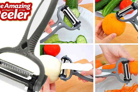 Vivo Technologies - Three in One Amazing Vegetable Peeler - Save 50%