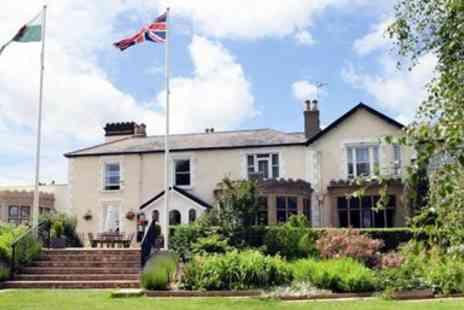 Northop Hall Country House Hotel - Afternoon tea for Two With bubbly in country house - Save 36%