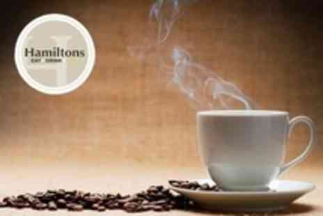 Hamiltons - Hot Drink Five - Save 61%