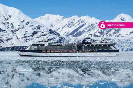 Tour Center - Seven nights Stay, full board Alaska cruise, two nights stay in Anchorage, overnight Vancouver stay and transfers - Save 23%