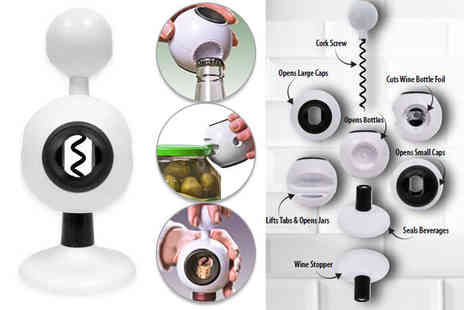 London Exchain Store - Eight in One can opener And kitchen tool - Save 83%