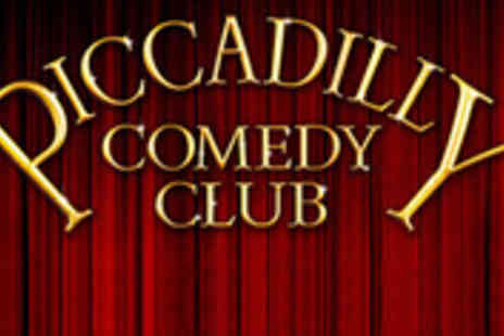 Piccadilly Comedy Club - Comedy club tickets for two plus nightclub entry - Save 50%
