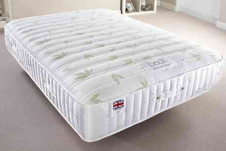 Groupon Goods Global GmbH - Hand Made Natural Sleep Health Mattress With Free Delivery - Save 73%